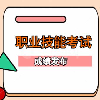 重庆市人才大市场集团有限公司职业技能等级认定成绩花名册